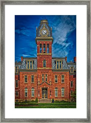 Woodburn Hall - West Virginia University Framed Print