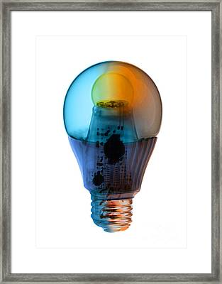 X-ray Of An Energy Efficient Light Framed Print