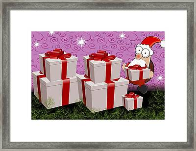 Christmas Framed Print by FL collection