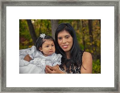 Cruz Baptism Framed Print