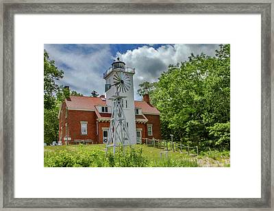 40 Mile Point Lighthouse Framed Print by Bill Gallagher