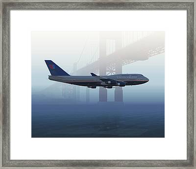 400 Under The Gate Framed Print