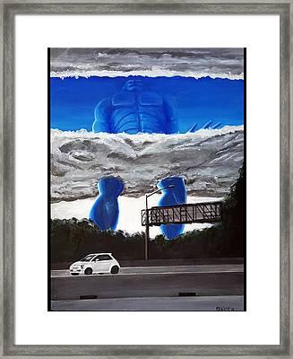 405 N. At Roscoe Framed Print