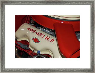 Framed Print featuring the photograph 409-483 by Bill Dutting