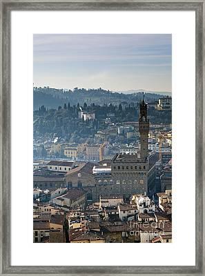 Florence Framed Print by Andre Goncalves