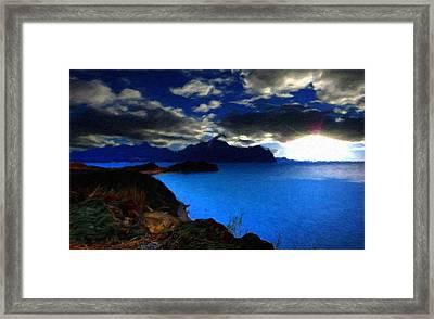 Framed Landscape Art Framed Print