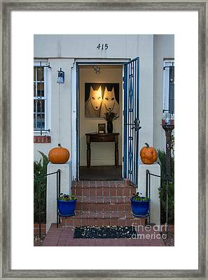 415 Canyon Road Framed Print
