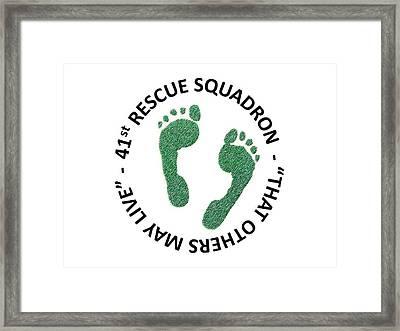 41st Rescue Squadron Framed Print