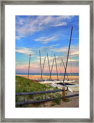 41st Street Beach In Ocean City Nj Framed Print