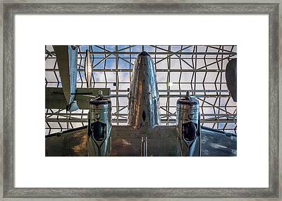 4242- Air And Space Museum  Framed Print by David Lange