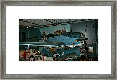 4254- Air And Space Museum Framed Print by David Lange