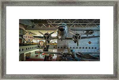 4267- Air And Space Museum  Framed Print by David Lange