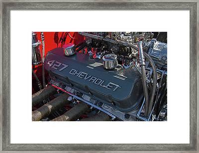 427 Chevrolet Engine Framed Print