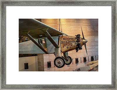 4273- Air And Space Museum  Framed Print by David Lange