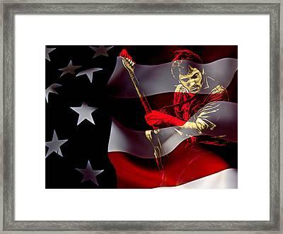 Bruce Springsteen Collection Framed Print