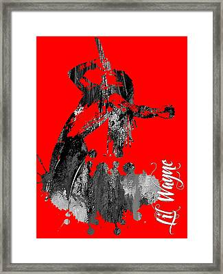 Lil Wayne Collection Framed Print