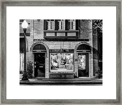 Franklin, Tennessee - 430 Main Street Framed Print by David Tutterrow