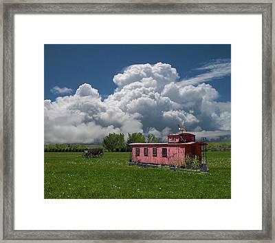 4355 Framed Print