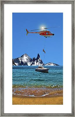 Framed Print featuring the photograph 4372 by Peter Holme III