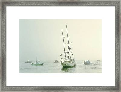 Framed Print featuring the photograph 4373 by Peter Holme III