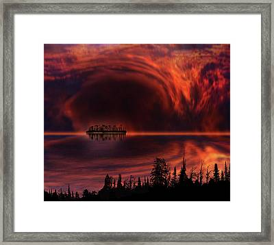 Framed Print featuring the photograph 4385 by Peter Holme III