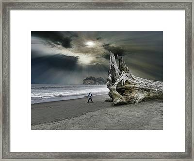 Framed Print featuring the photograph 4392 by Peter Holme III