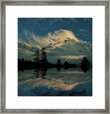 Framed Print featuring the photograph 4395 by Peter Holme III