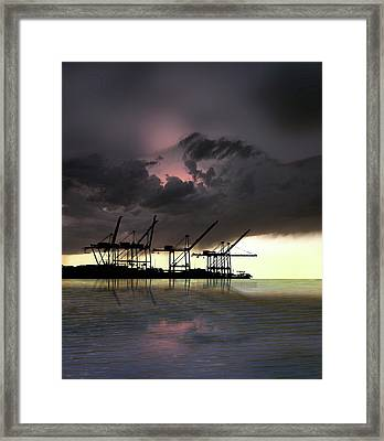 Framed Print featuring the photograph 4396 by Peter Holme III