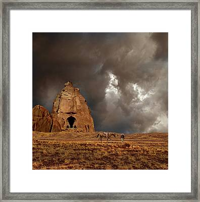 Framed Print featuring the photograph 4398 by Peter Holme III