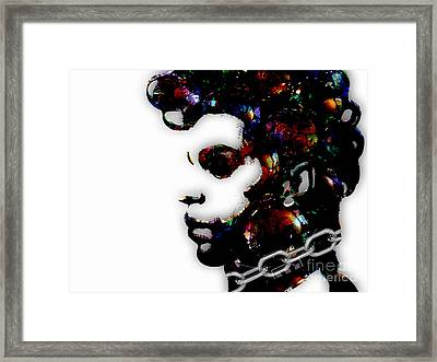 Prince Collection Framed Print by Marvin Blaine