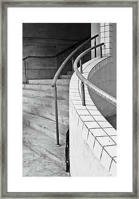 Stone Steps Framed Print