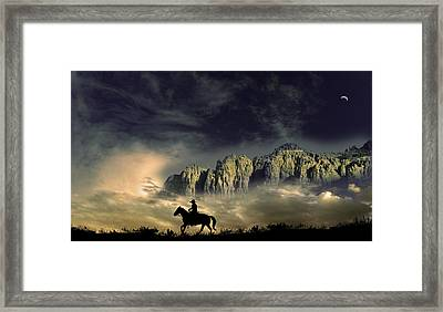 Framed Print featuring the photograph 4403 by Peter Holme III