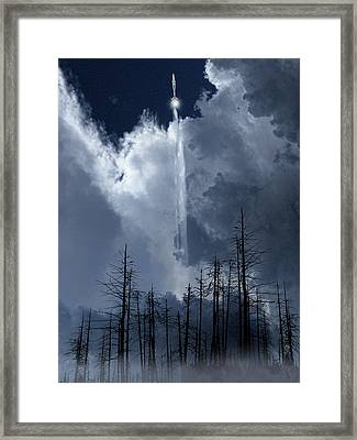 Framed Print featuring the photograph 4404 by Peter Holme III