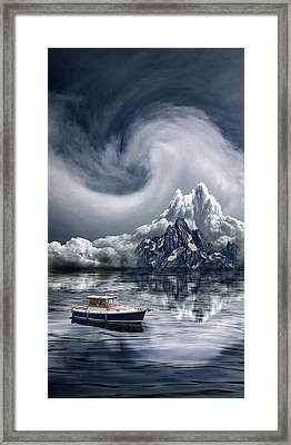 Framed Print featuring the photograph 4412 by Peter Holme III