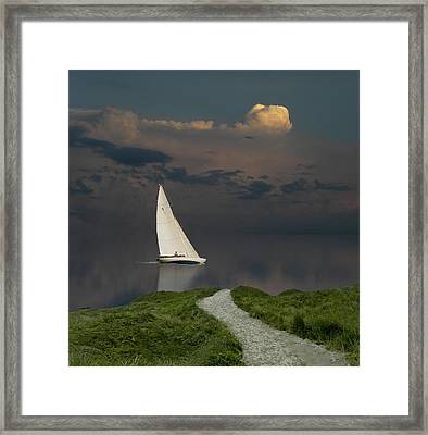 Framed Print featuring the photograph 4456 by Peter Holme III