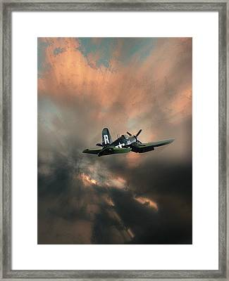 Framed Print featuring the photograph 4462 by Peter Holme III