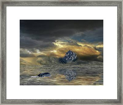Framed Print featuring the photograph 4471 by Peter Holme III