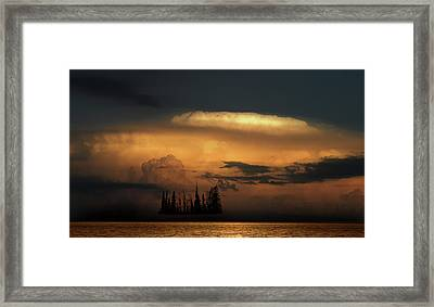 Framed Print featuring the photograph 4476 by Peter Holme III