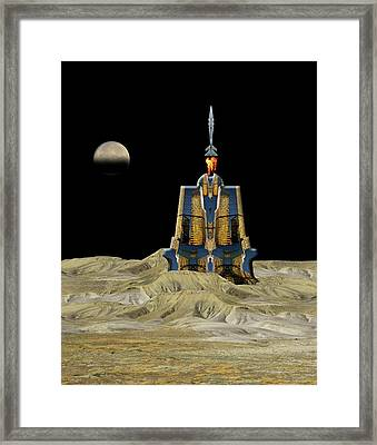 Framed Print featuring the photograph 4481 by Peter Holme III