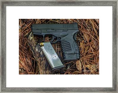 45 Acp Carry Gun Framed Print