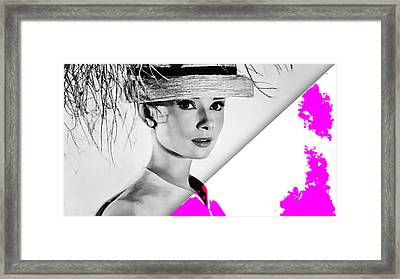 Audrey Hepburn Collection Framed Print by Marvin Blaine