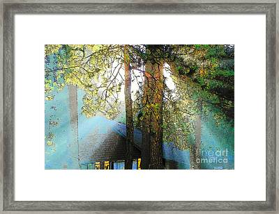 Idyllwild - Houses On The Hill Framed Print