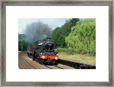 45690 Leander At Grindleford Framed Print by David Birchall