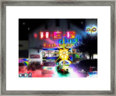 #4570_heb_1_arty Framed Print