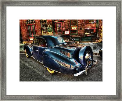 46 Continental Framed Print by William Fields