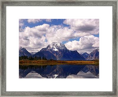 Grand Teton National Park Framed Print by Mark Smith