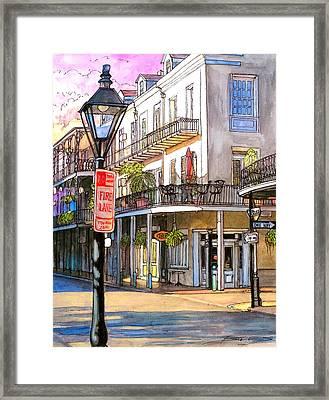 46 Framed Print by John Boles