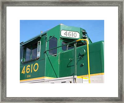 4610 Spencer Framed Print