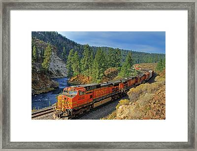 4688 Framed Print by Donna Kennedy