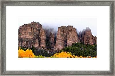 Landscapes Drawing Framed Print